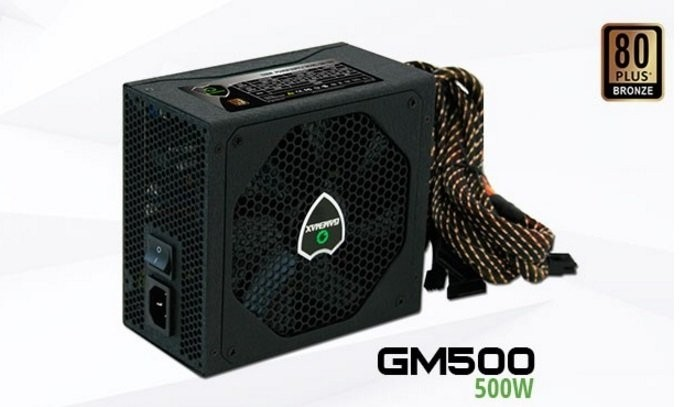 FONTE GAMEMAX GM600 600W REAL 80PLUS BRONZE