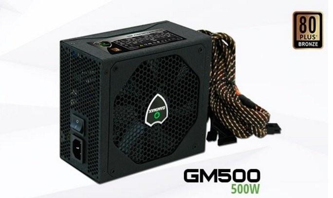 FONTE GAMEMAX GM600 600W REAL 80PLUS BRONZE