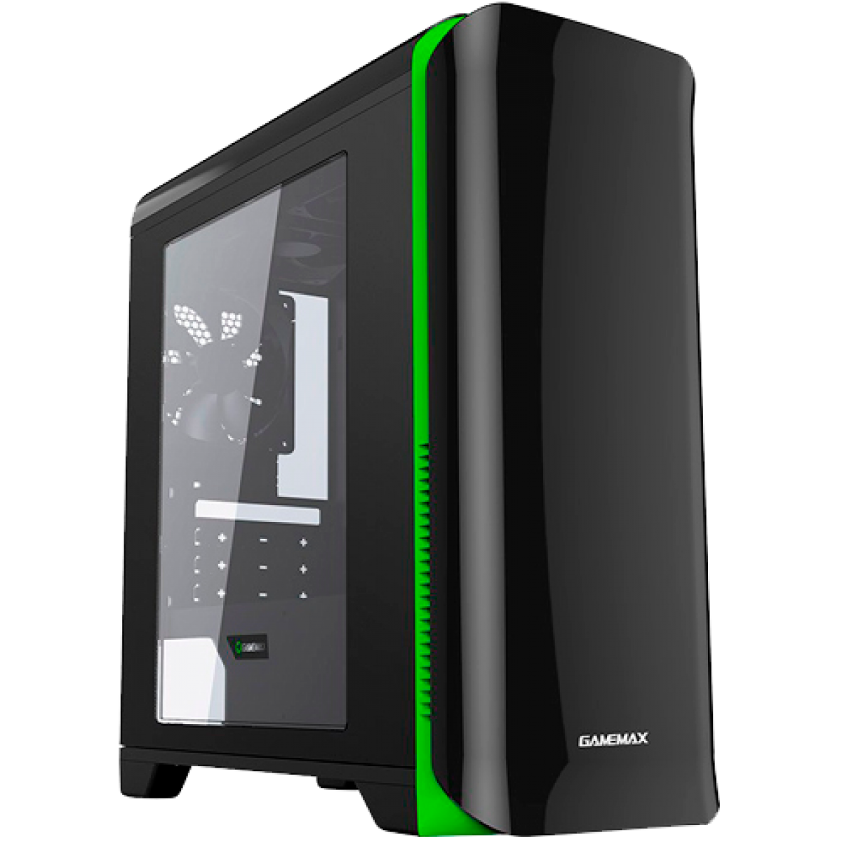 GABINETE GAMER GAMEMAX H602 HERO PRETO