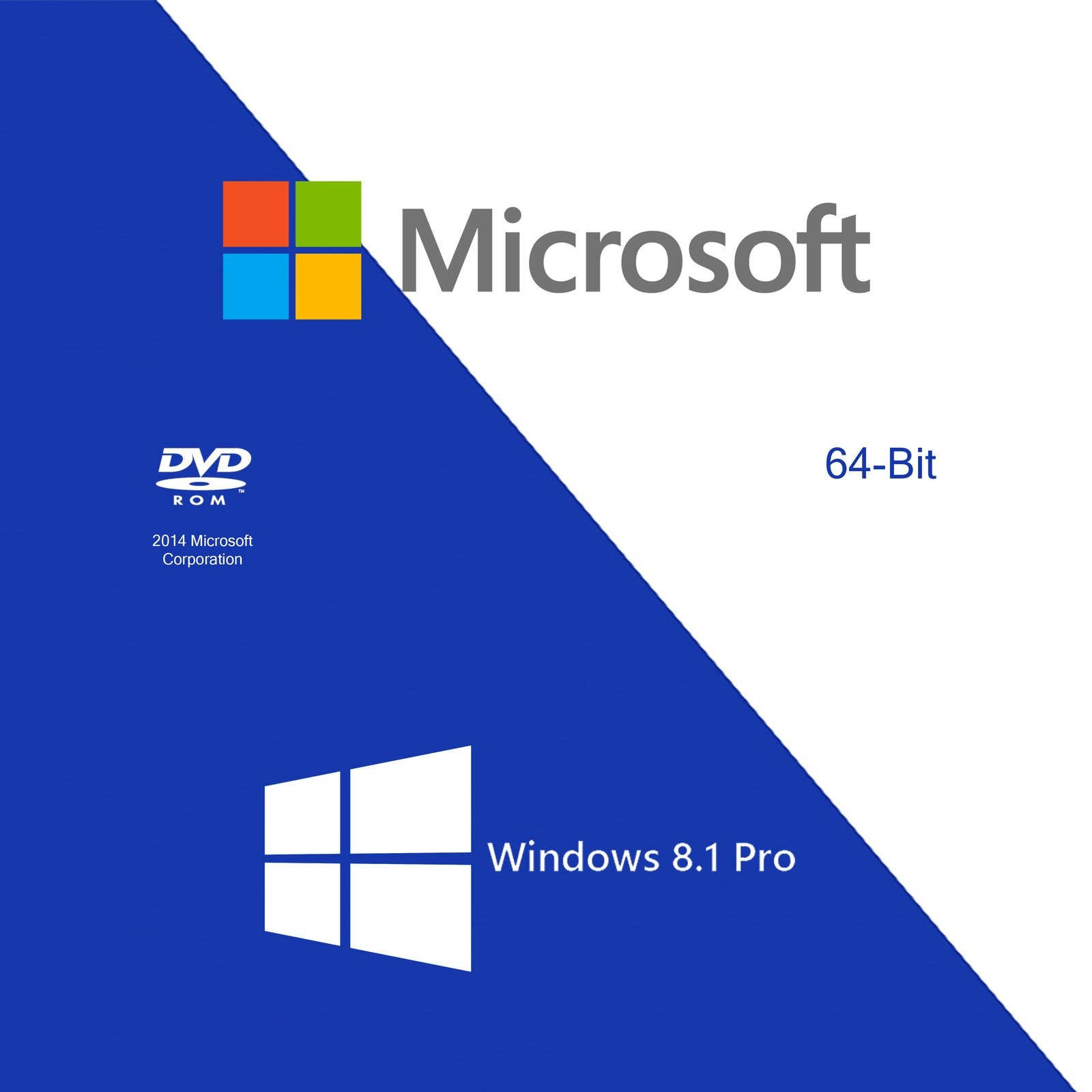Microsoft windows 8.1 Pro 64 Bits