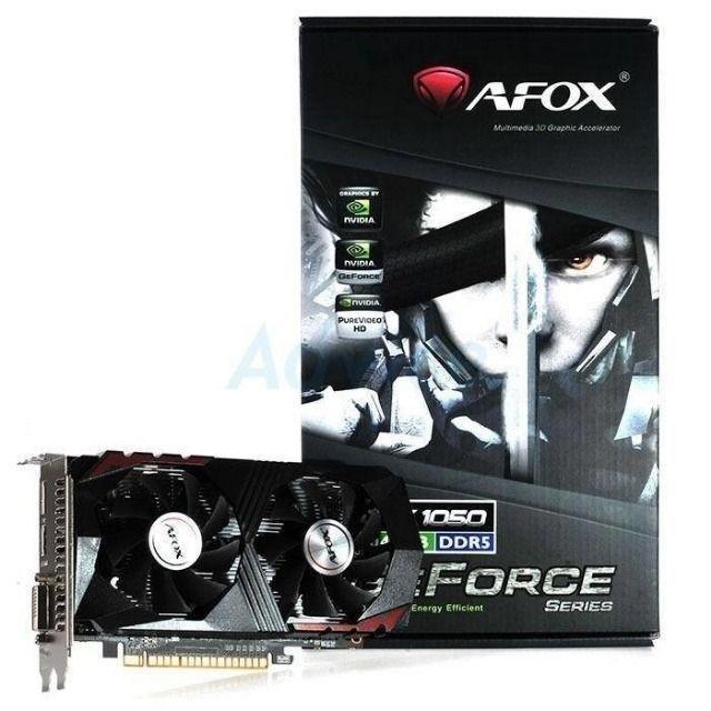 PLACA DE VIDEO AFOX GEFORCE GTX 1050 TI 4GB GDDR5