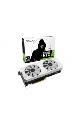 PLACA DE VÍDEO RTX2070 8GB WHITE MINI 1CLICK OC G6 256B GALAX