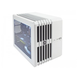 GABINETE GAMER CORSAIR CC-9011069-WW CARBIDE SERIES AIR 240 M-ATX BRANCO