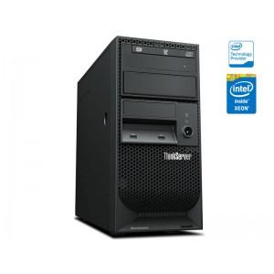"SERVIDOR TORRE INTEL LENOVO 70LVA002BN TS150 QUAD-CORE XEON E3-1225 V5 3.3GHZ 8GB DDR4 1TB 3,5"" SATA"