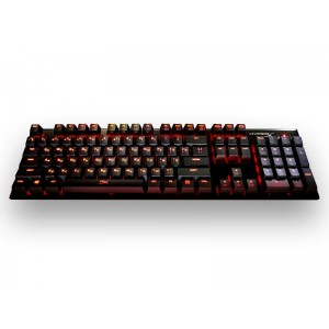 TECLADO GAMER HYPERX HX-KB1BL1-NA/A4 MECANICO ALLOY FPS CHERRY MX BLUE