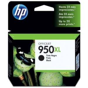 Cartucho de Tinta HP OfficeJet 950XL Preto - CN045AB