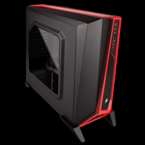 GABINETE CORSAIR CARBIDE SERIES SPEC-ALPHA MID TOWER PRETO/VERMELHO S/ FONTE