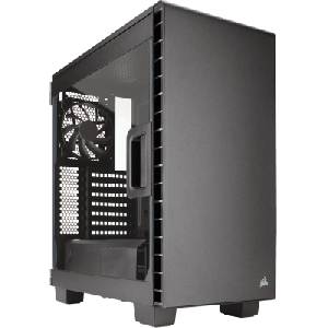 Gabinete mid-tower compacto Carbide Series® Clear 400C
