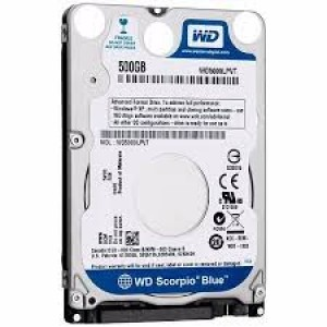 HD NOTEBOOK  SATA2 500GB WESTERN DIGITAL WD5000LPVT