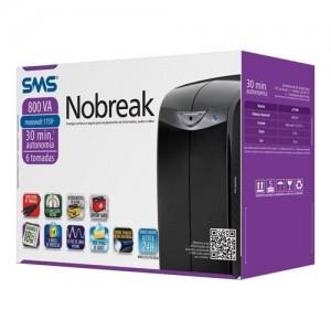 Nobreak SMS Station II 27391 800va Mono 115v