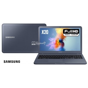 "Notebook Samsung Expert X20 -Core i5 / 8265u / 4GB RAM / 1TB / Windows 10 Home / Tela 15.6"" - Titânio Metálico"