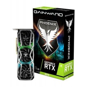 Placa de Vídeo GeForce RTX 3070 Phoenix 8GB GDDR6 256bit NE63070019P2-1041X Gainward